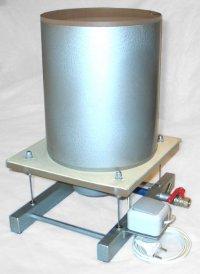 Вибростол с вакуумным колпаком d 230 мм