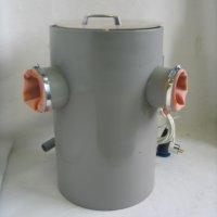 Камера для мойки опок с высоким давлением со сборником формовочной массы