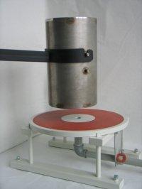 Вакуумный стол диаметром 400мм. и ресивер. + рем. комплект.